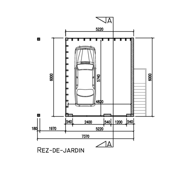 Super Construction d'un garage II | Manhave s.a.r.l. QZ81