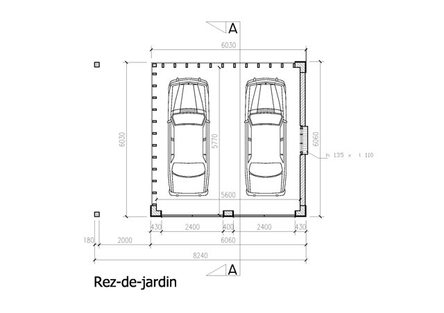 Construction d 39 un garage iii manhave s a r l - Construction garage permis de construire ...