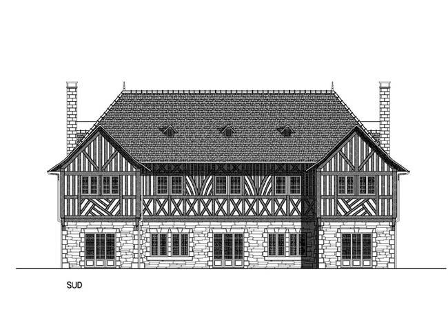 Construction d 39 un manoir manhave s a r l - Manoir dessin ...